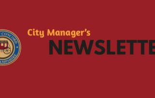 City Manager's Newsletter - Concord NH