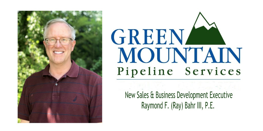 Green Mountain Pipeline Services Sales & Business Development Executive Ray Bahr